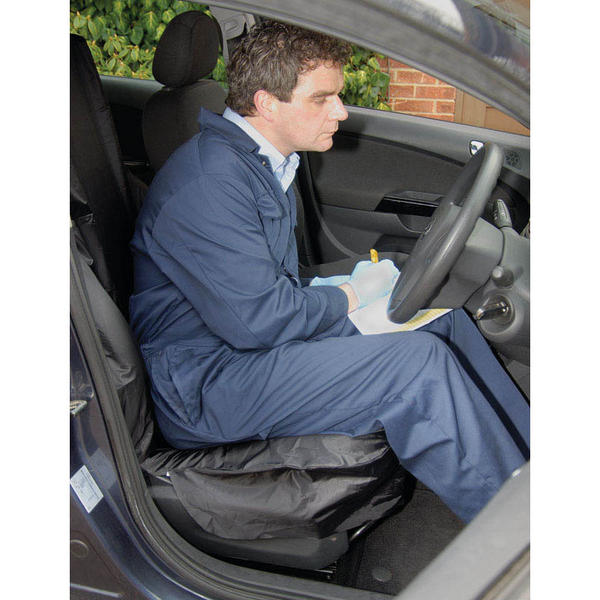 Draper 22596 SC-02 Side Airbag Compatible Polyester Front Seat Cover Thumbnail 2
