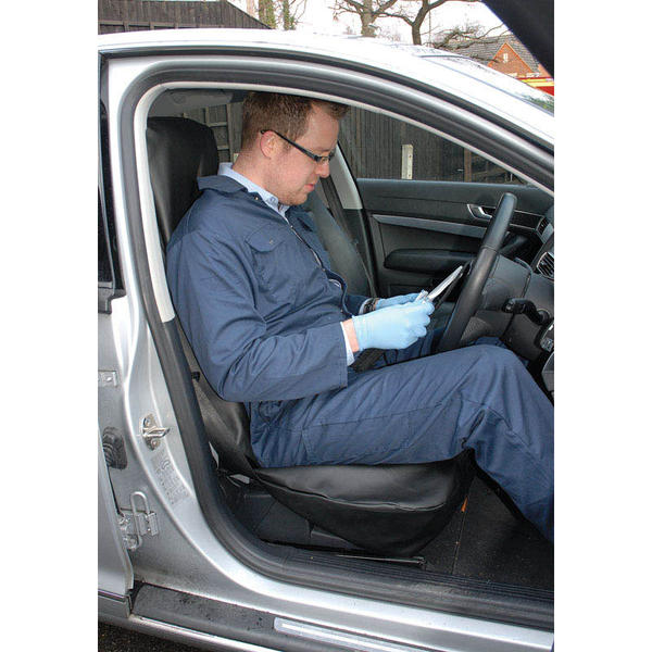Draper 22597 SC-03 Expert Side Airbag Compatible Front Seat Cover Thumbnail 2
