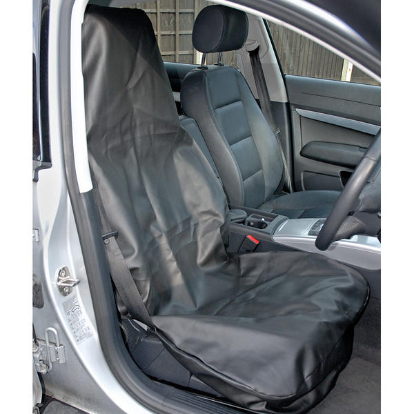 Draper 22597 SC-03 Expert Side Airbag Compatible Front Seat Cover Thumbnail 1