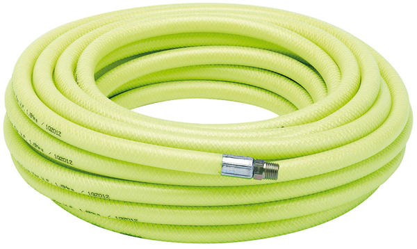 "Draper 23190 15.2M 1/4"" BSP 8mm Bore High-Vis Air Line Hose Thumbnail 1"