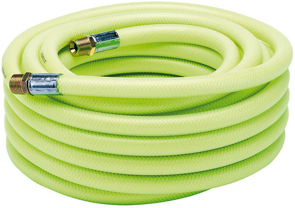 "Draper 23192 15.2M X 1/2"" BSP 13mm Bore High-Vis Air Line Hose Thumbnail 1"