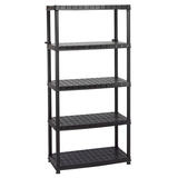 Draper 23232 5 Tier Plastic Shelving Unit