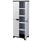 Draper 23234 Heavy Duty Plastic 4 Shelf Plastic Utility Cabinet