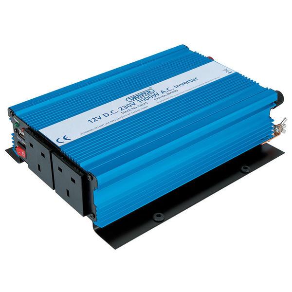 Draper 23245 IN1000 1000W DC-AC Inverter Thumbnail 3