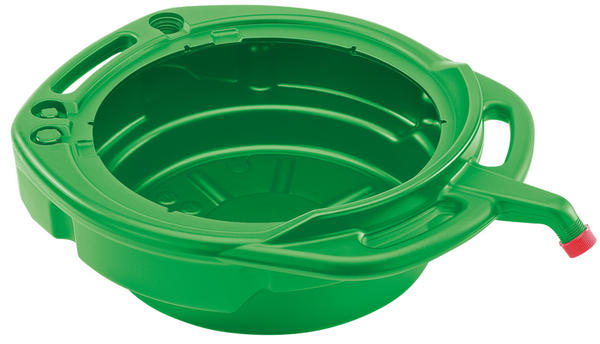Draper 23259 16L Fluid Drain Pan - Green Thumbnail 1