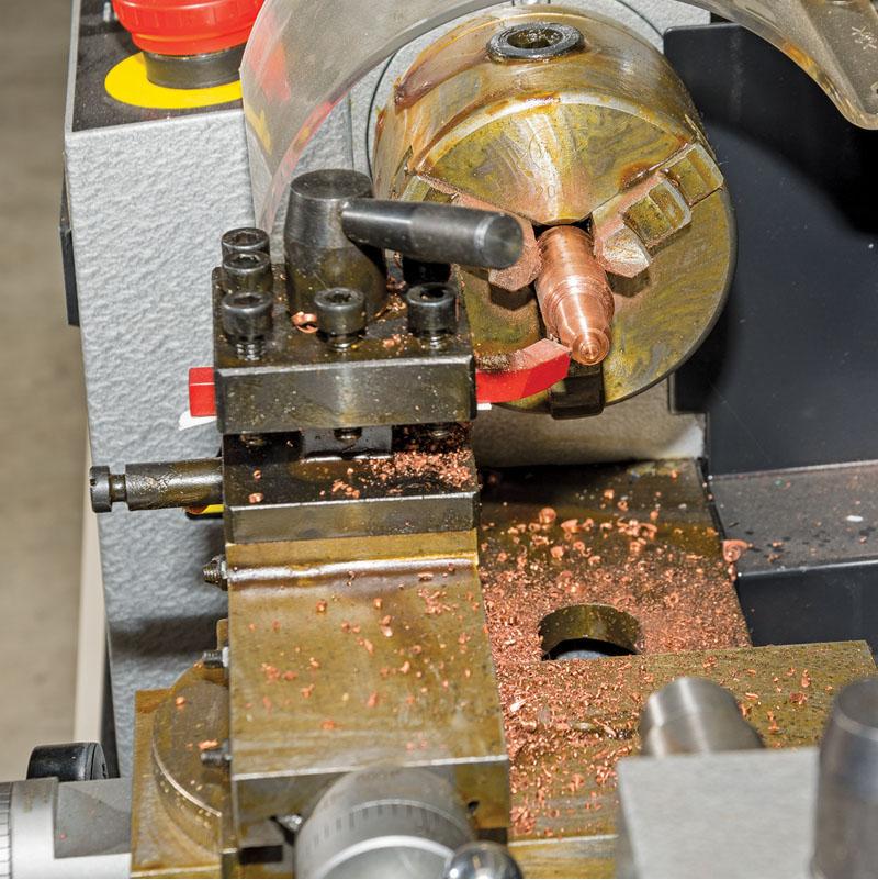 Aluminum Brass Working France: Draper 33893 LATHE-300 250W 230V Variable Speed Metal Work