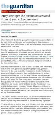 bamford trading in the Guardian