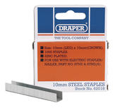 Draper 62018 ASTNE10 10mm Staples (1000)