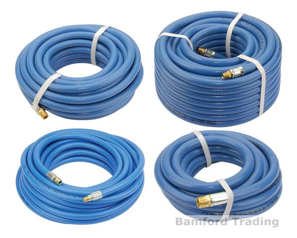 Draper Quality Straight Compressed Air Line Hose for Compressor Tools 16ft-65ft Thumbnail 1