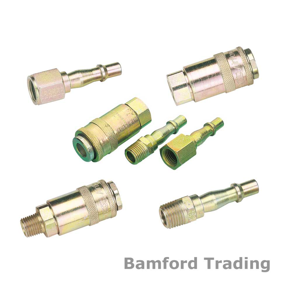 Compressed Air Fittings : Pcl compressor air line fittings couplers couplings hose