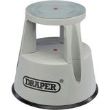 Draper 25356 PKS Warehouse Kickstool/Stepstool on Wheels