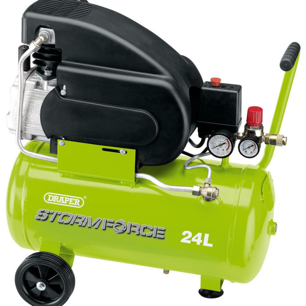 Draper 5278 24L 230V 2hp Air Compressor