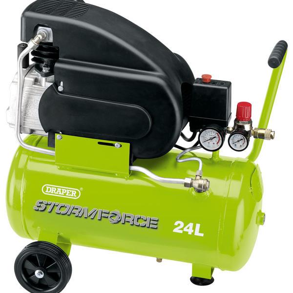 Draper 5278 24L 230V 2hp Air Compressor Thumbnail 1
