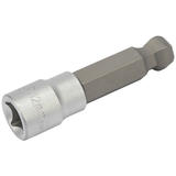 "Draper 10814 D-HEX-BALL Expert 12mm 3/8"" Sq. Dr. Metric Ball End Hexagonal Socket Bits"