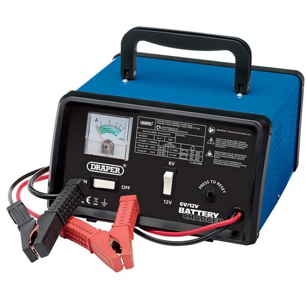 Draper 20492 BCD9 6/12V 8.4A Battery Charger Thumbnail 1