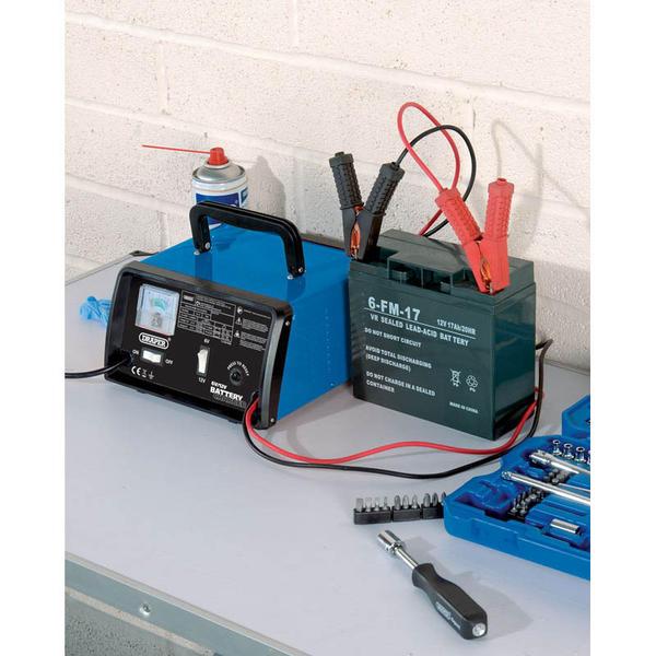 Draper 20492 BCD9 6/12V 8.4A Battery Charger Thumbnail 3