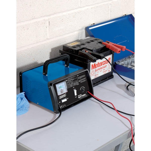 Draper 20492 BCD9 6/12V 8.4A Battery Charger Thumbnail 2