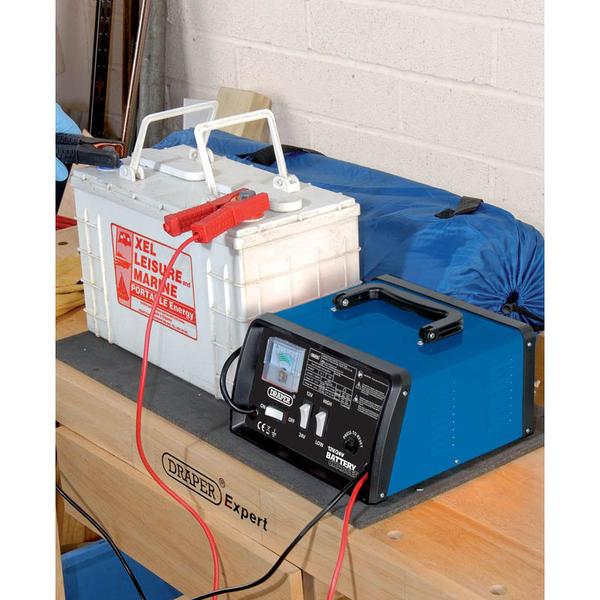 Draper 20493 BCD11 12/24V 10.3A Battery Charger Thumbnail 3