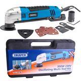 Draper 23666 MT300 300W 230V 300W Oscillating Multi-Tool Kit