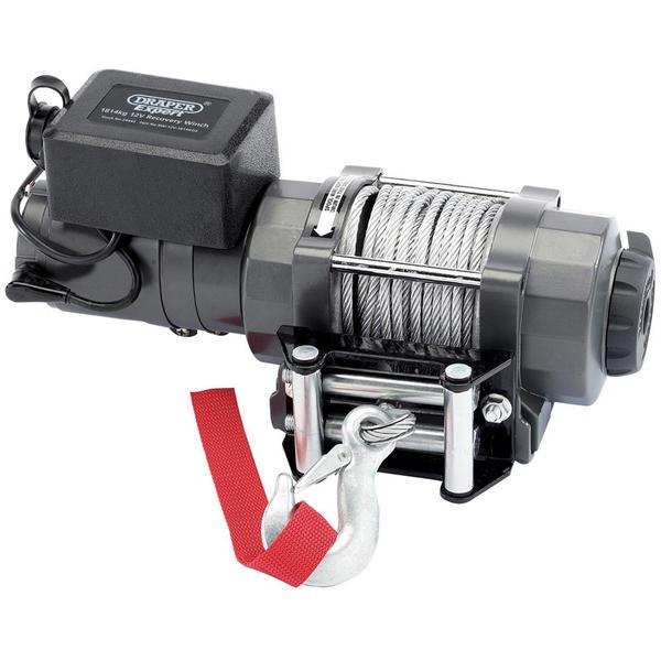 Draper 24443 RW/12V-1814KGS Expert 1814kg 12V Recovery Winch Thumbnail 2