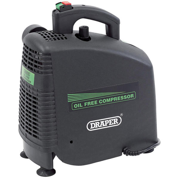Draper 24973 DA0/162 230V 1.1kW (1.5hp) Oil-Free Air Compressor Thumbnail 1