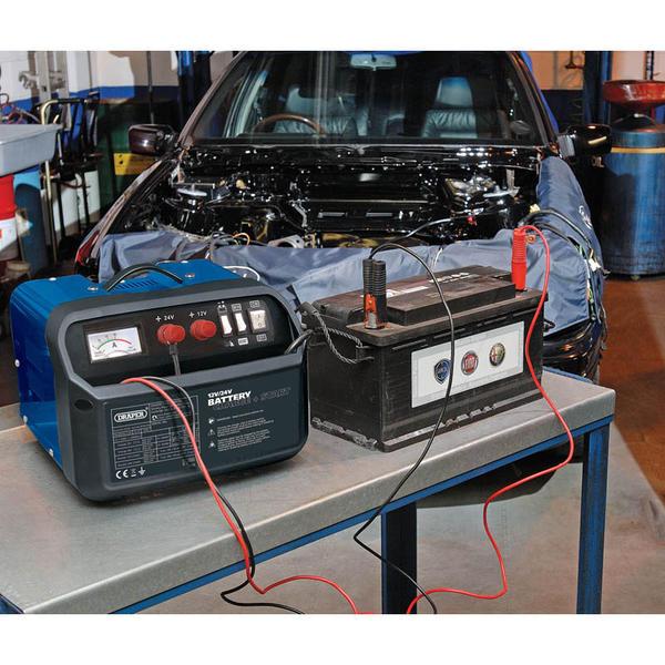 Draper 25355 BCSD190 12/24V 180A Battery Starter/Charger Thumbnail 2