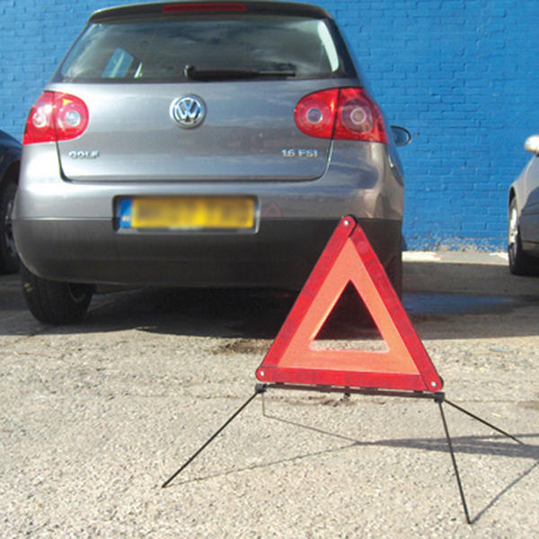 Silverline 140958 Reflective Motoring Safety Warning Triangle Thumbnail 3