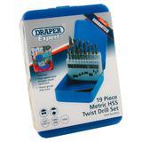 Draper 25923 19HSS/E Expert 19 Piece Metric HSS Drill Set