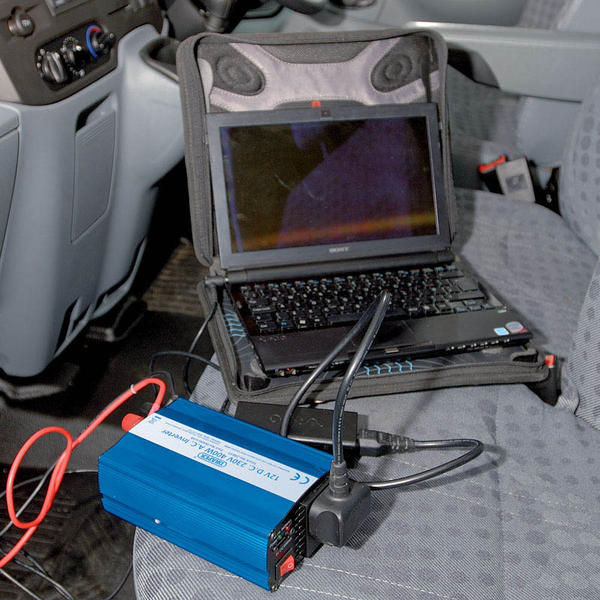 Draper 28815 IN400/USB 12V 400W DC-AC Inverter Thumbnail 3