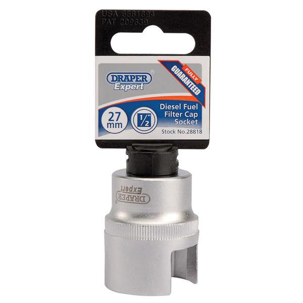 Draper 28818 DFFCS Expert Diesel Fuel Filter Cap Socket Thumbnail 1