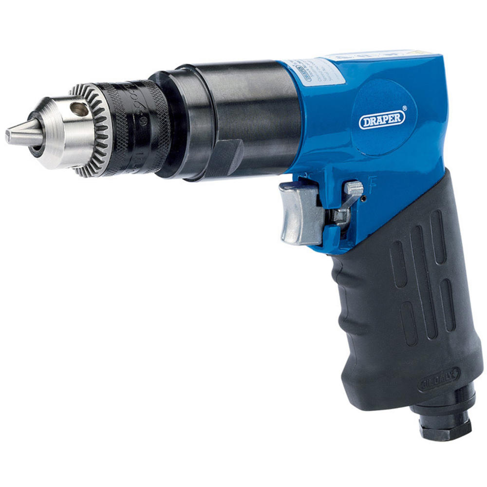 Draper 28829 4273A Reversible Air Drill with 10mm Geared Chuck