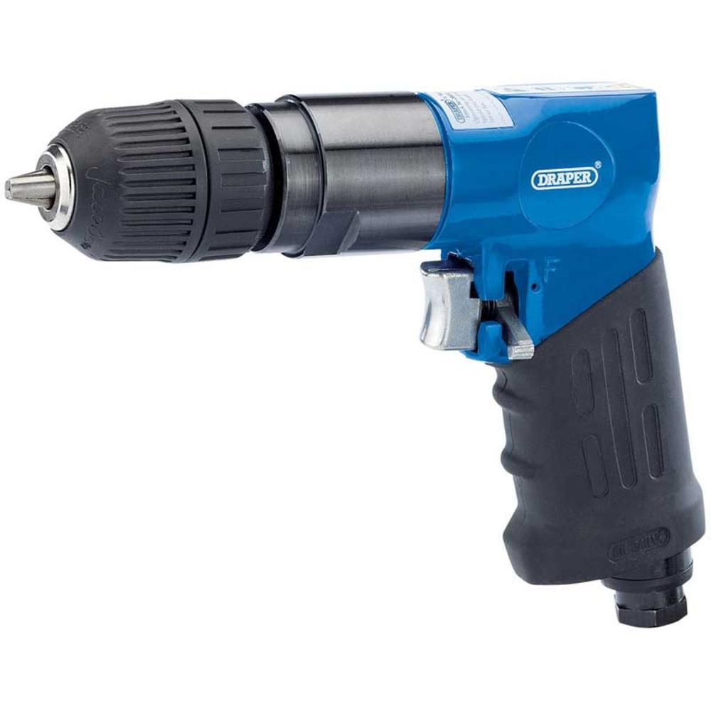 Draper 28830 4273KA Reversible Air Drill with 10mm Keyless Chuck