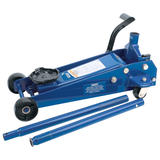 Draper 30612 TJ3HD/QL/B 3 Tonne Heavy Duty Garage Trolley Jack