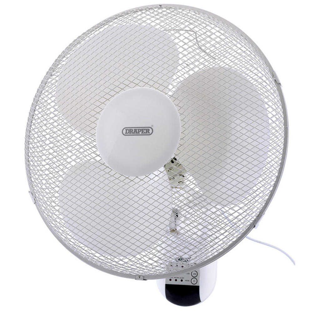 Wall Mounted Fans With Remote Control : Draper fan wall mounted remote control