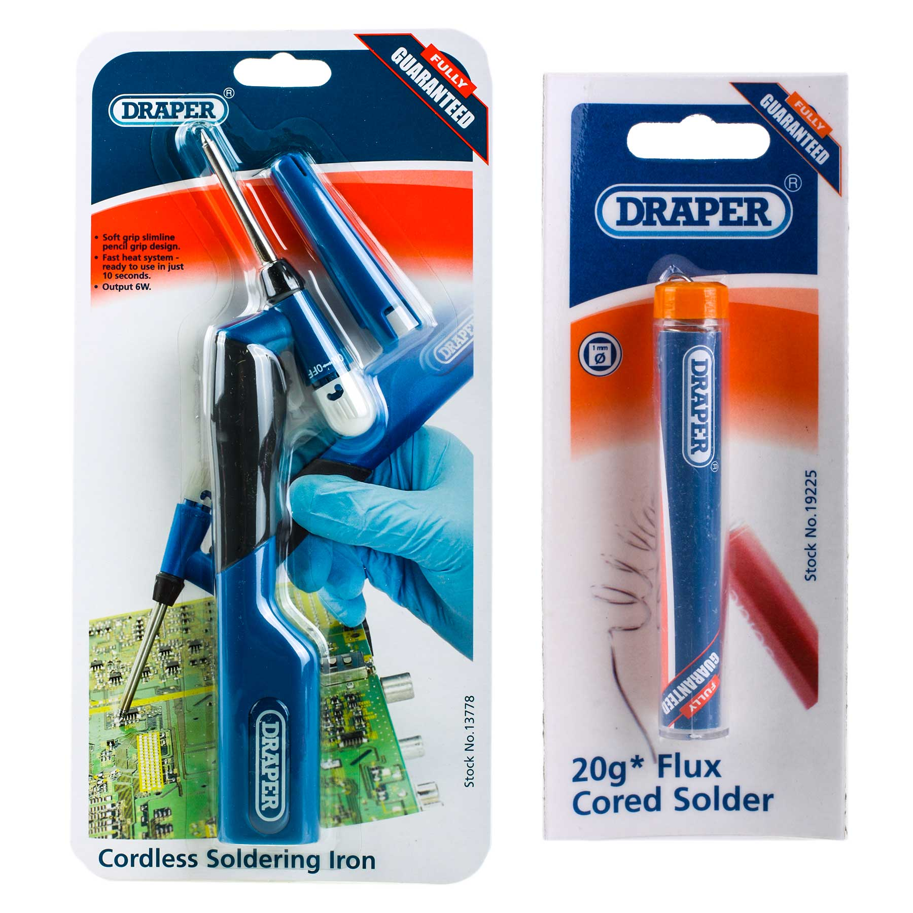 Draper 13778 Csi-1 6W Cordless Battery Powered Soldering Iron with ...