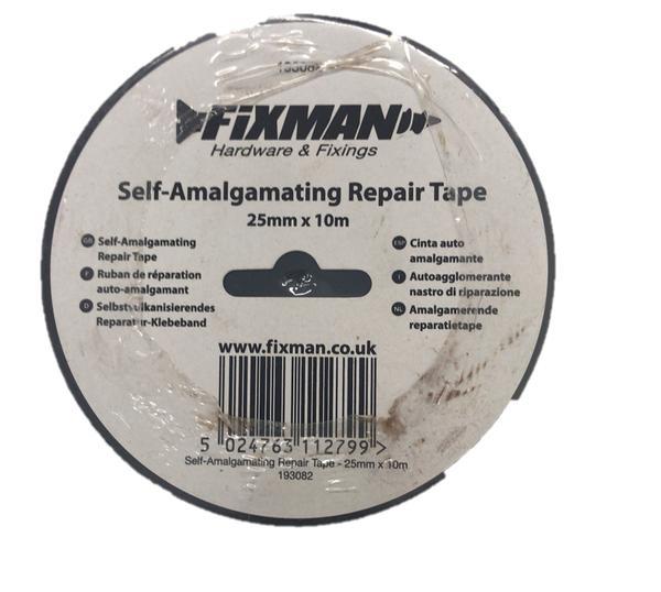 Silverline 193082 Self Amalgamating Repair Tape 25mm x 10m Thumbnail 2