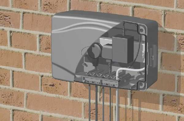 Masterplug Weatherproof Box For Outdoor Electrical Power