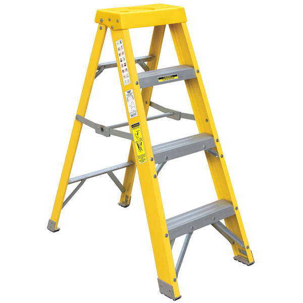 Draper 29937 FGL3 Expert Fibreglass 3 Step Ladder Thumbnail 1
