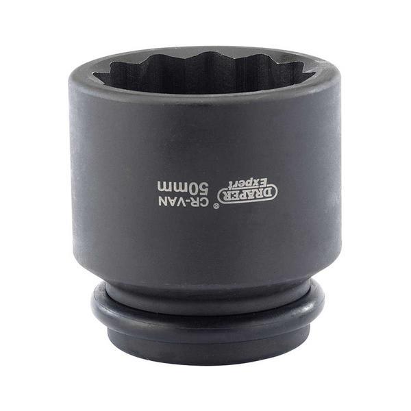 "Draper 33319 411D-MM Expert 50mm 3/4"" Sq. Dr. Hub Nut Impact Socket Thumbnail 1"