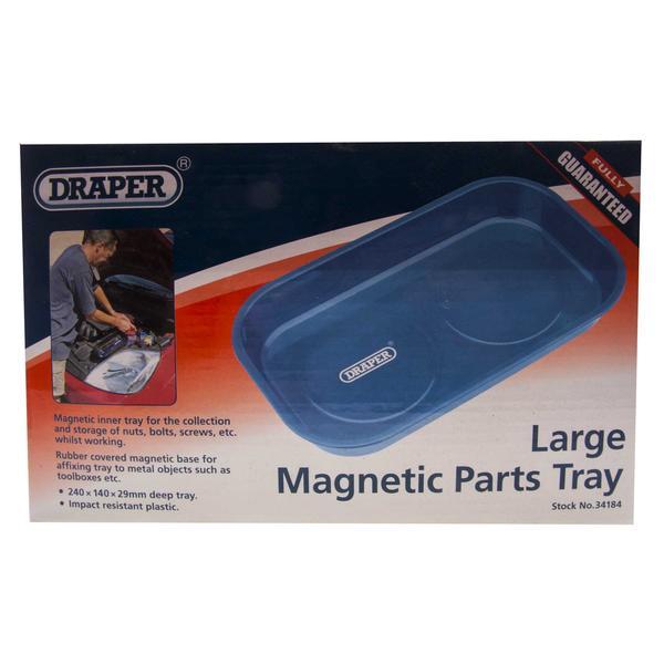 Draper 34184 MPT/2/B Large Magnetic Parts Tray Thumbnail 4