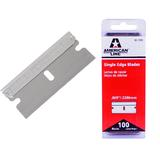 100 x Personna American Line Single Edge Safety Razor Blades