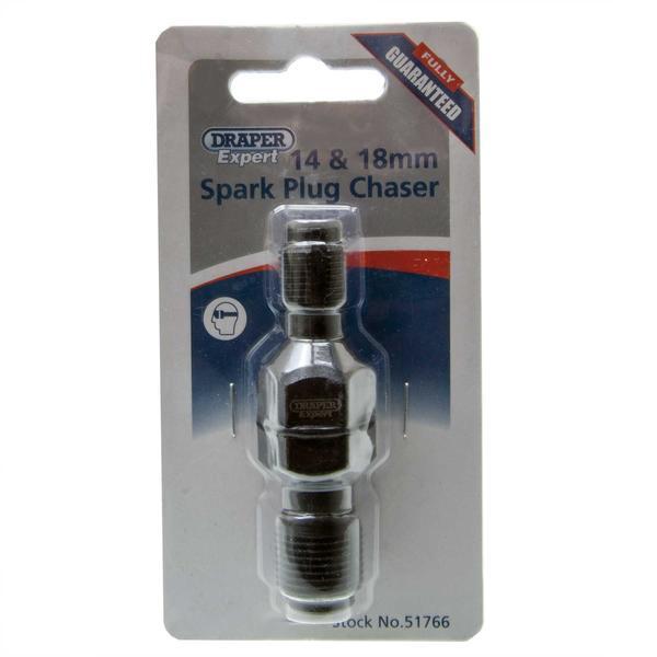 Draper 51766 SPC14-18MM Expert 14-18mm Spark Plug Thread Repair/Chaser Thumbnail 2