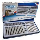 Draper 33322 MH40/SC/B Tx-Star/Torx/Hex/XZN Bit Set 40 Piece