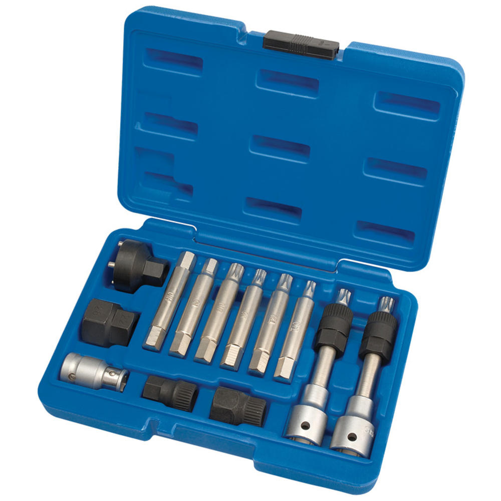 Draper 31913 AFWPS13 Expert Alternator Pulley Tool Kit (13 Piece)