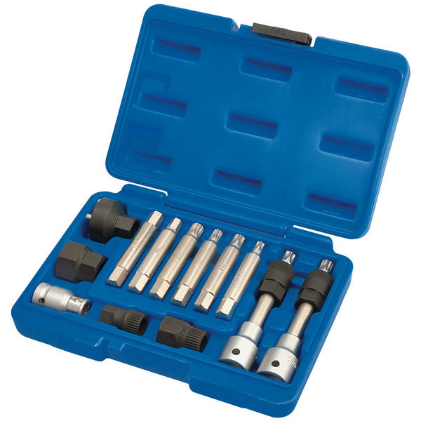 Draper 31913 AFWPS13 Expert Alternator Pulley Tool Kit (13 Piece) Thumbnail 2