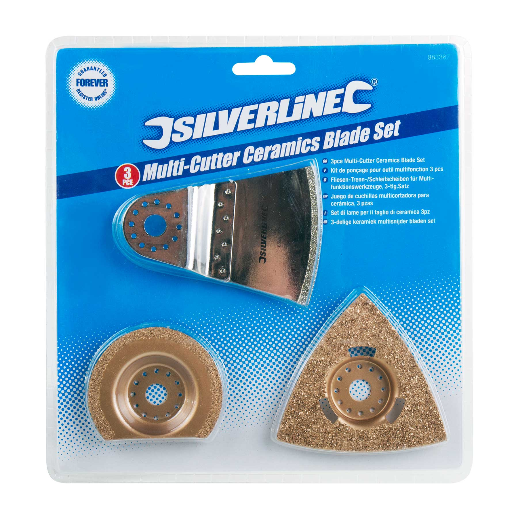 Silverline Oscillating Multi Tool Ceramic Tile Grout