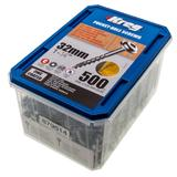 "Kreg SML-C125-500-EUR Zinc Pocket-Hole Screws Coarse No 8 x 1-1/4"" 500 Pack"