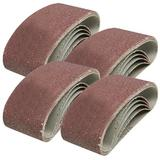 Silverline 171121 Sanding Belts 75mm x 457mm 40 Grit (20 Pack)