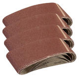 Silverline 433236 Sanding Belts 75mm X 533mm 80 Grit (20 Pack)