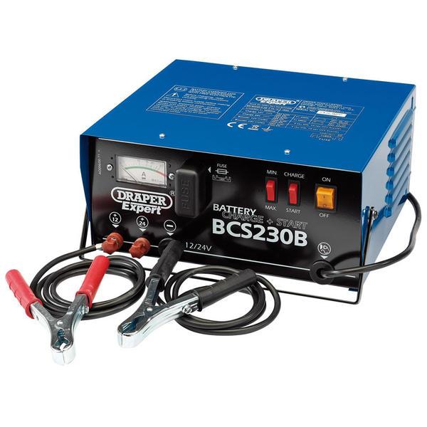 Draper 24561 BCS230B Expert 12/24V 230A Battery Starter/Charger Thumbnail 1